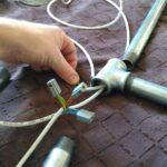 Deckenlampe Industrial Design Aus Rohren Lighting Mihu Küche Deckenlampen Wohnzimmer Bad Esstisch Modern Schlafzimmer Für Wohnzimmer Deckenlampe Industrial