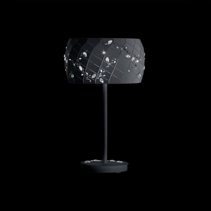 Medium Size of Kristall Stehlampe Swarovski Apta Tiin Schwarz Mit Klaren Stehlampen Wohnzimmer Schlafzimmer Wohnzimmer Kristall Stehlampe