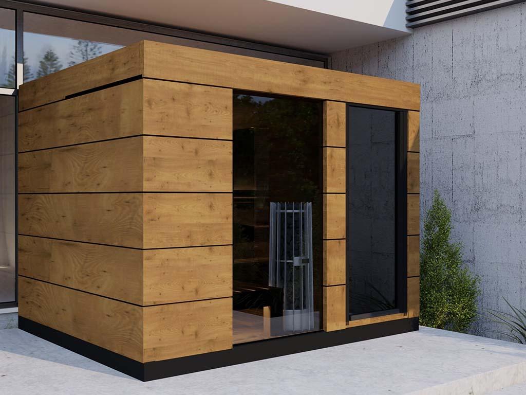 Full Size of Gartensauna Bausatz Garten Sauna Klein Selber Bauen Holzofen Modernes Wohnzimmer Gartensauna Bausatz
