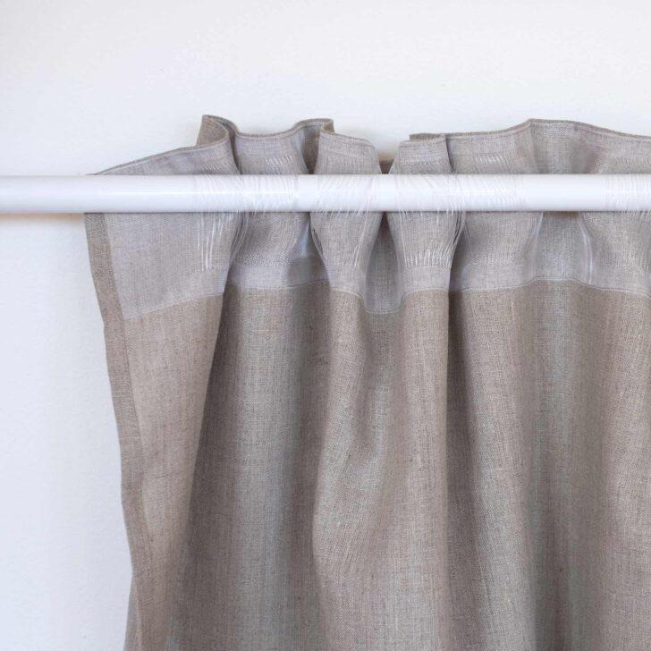 Medium Size of Leinen Vorhang Blickdicht Natur Braun Scheibengardinen Küche Wohnzimmer Scheibengardinen Blickdicht