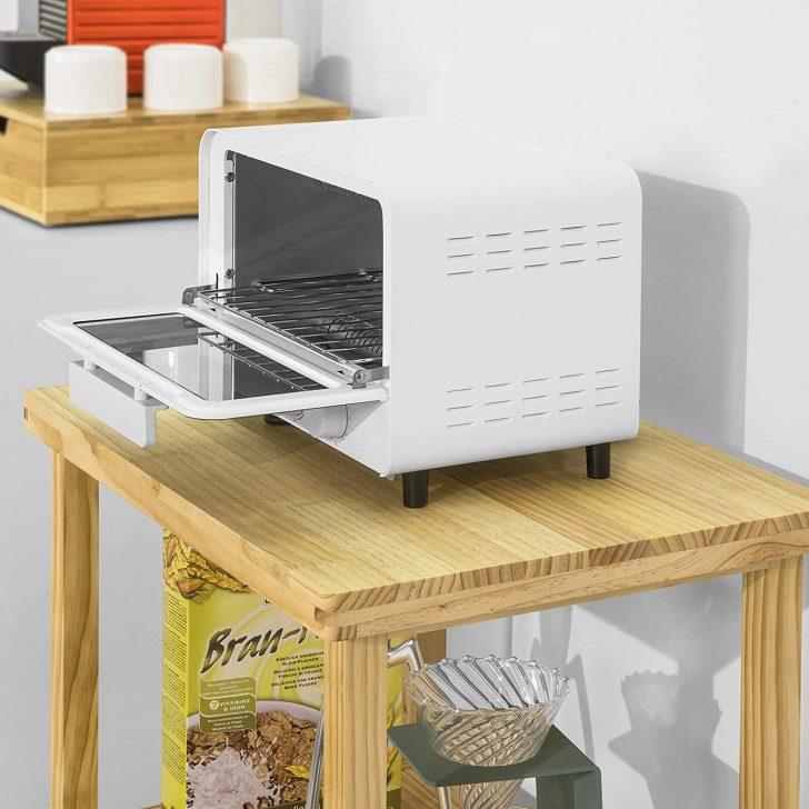 Medium Size of Küche Beistelltisch Sobuy Fsb22 N Mikrowellenschrank Bckerregal Mit 3 Ablagen Kleine L Form Deckenleuchte Amerikanische Kaufen Komplettküche Ohne Geräte Wohnzimmer Küche Beistelltisch