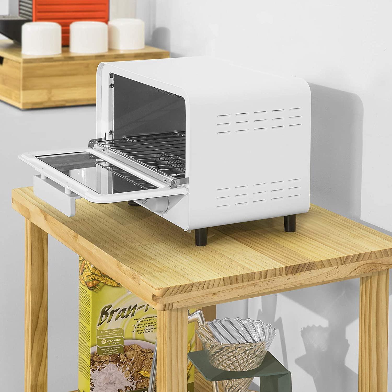 Full Size of Küche Beistelltisch Sobuy Fsb22 N Mikrowellenschrank Bckerregal Mit 3 Ablagen Kleine L Form Deckenleuchte Amerikanische Kaufen Komplettküche Ohne Geräte Wohnzimmer Küche Beistelltisch