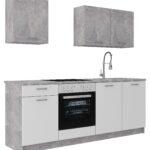 Modernen Kchenleerblock In Stone Kaufen Küchen Regal Wohnzimmer Möbelix Küchen