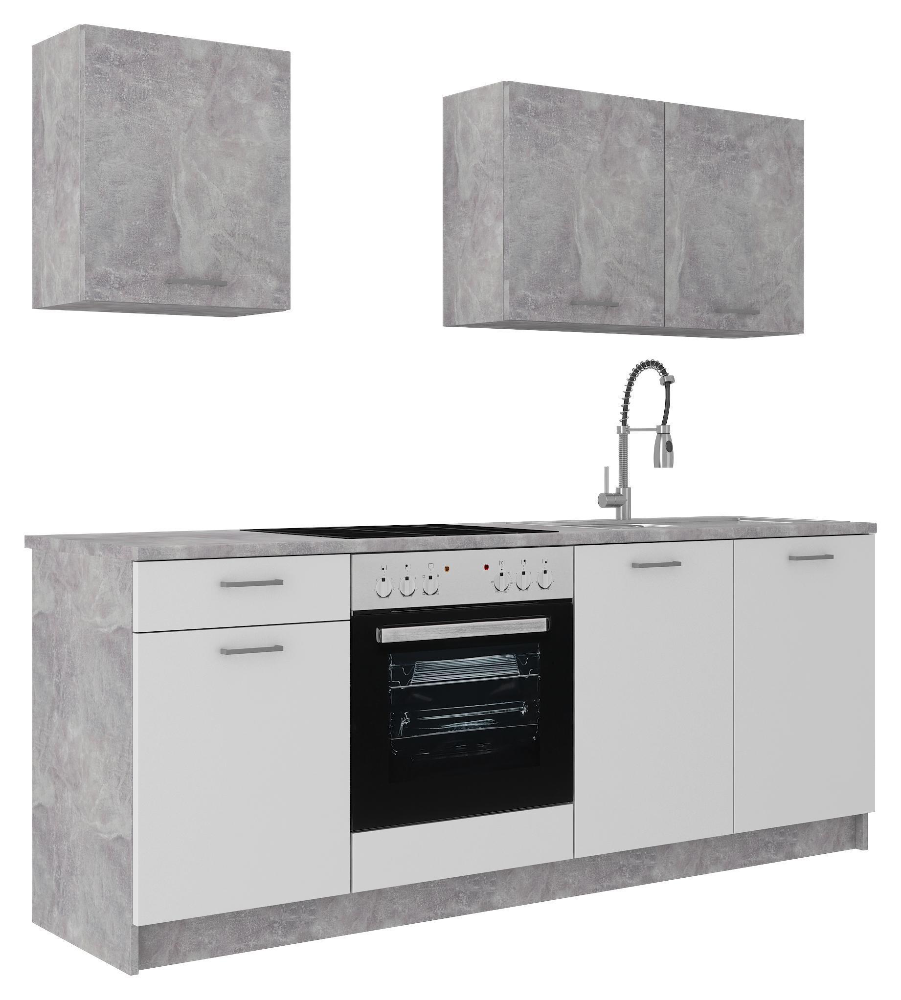 Full Size of Modernen Kchenleerblock In Stone Kaufen Küchen Regal Wohnzimmer Möbelix Küchen