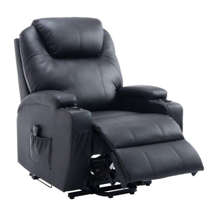 Medium Size of Liegesessel Verstellbar Homcom Elektrischer Fernsehsessel Mit Aufstehhilfe Real Sofa Verstellbarer Sitztiefe Wohnzimmer Liegesessel Verstellbar