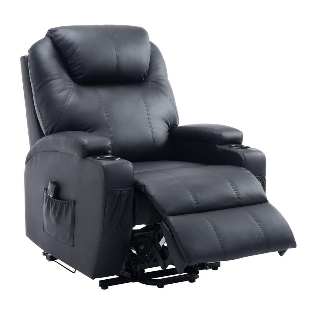 Full Size of Liegesessel Verstellbar Homcom Elektrischer Fernsehsessel Mit Aufstehhilfe Real Sofa Verstellbarer Sitztiefe Wohnzimmer Liegesessel Verstellbar