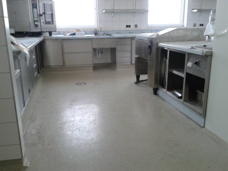 Medium Size of Küche Boden Kchenboden Industriebodenat Klapptisch Erweitern Arbeitstisch Teppich Für Griffe Alno Bad Bodenfliesen Miniküche Mit Kühlschrank Aufbewahrung Wohnzimmer Küche Boden