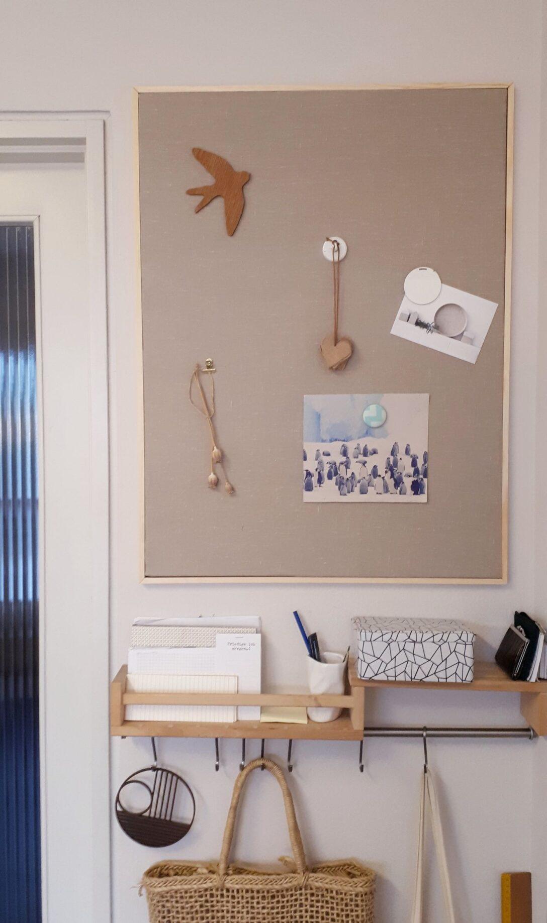 Large Size of Eine Pinnwand Selber Machen Und Deko Ideen Behindertengerechte Küche Stehhilfe Einbauküche Mit E Geräten Outdoor Kaufen Weiß Hochglanz Auf Raten Landhaus Wohnzimmer Pinnwand Küche