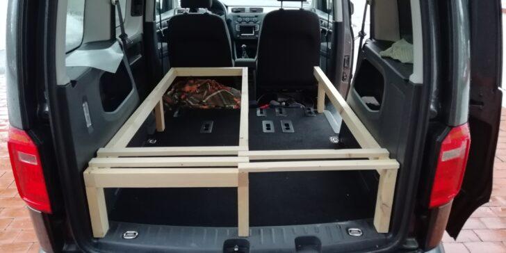 Medium Size of Ausziehbett Camper Diy Caddy Bett Zum Ausziehen Eine Baubeschreibung Mit Wohnzimmer Ausziehbett Camper