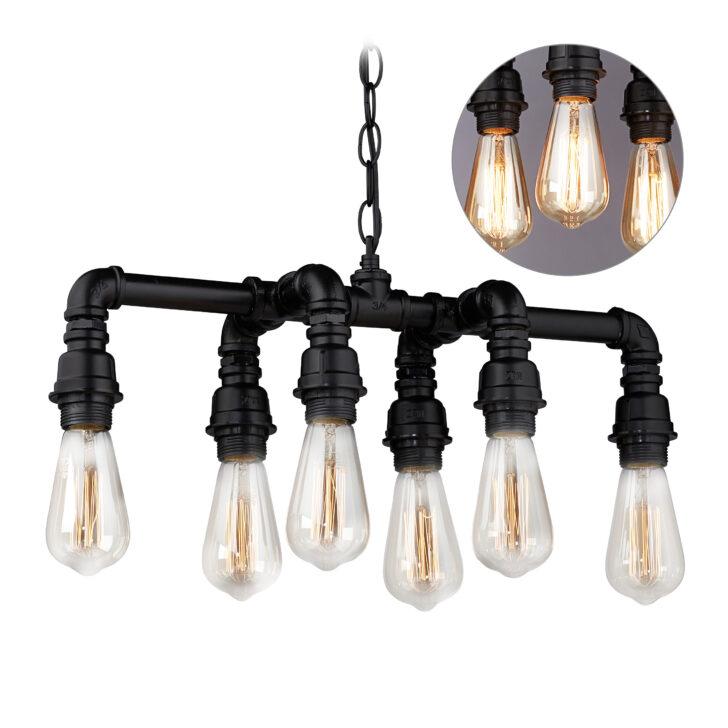Medium Size of Deckenlampe Industrial Rohr Hngelampe Barlampe Hngeleuchte Rohrlampe Bad Esstisch Schlafzimmer Deckenlampen Für Wohnzimmer Modern Küche Wohnzimmer Deckenlampe Industrial