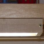 Holz Led Lampe Selber Bauen Wohnzimmer Led Flchenlampe Aus Holz Und Plexiglas Hobby Holzwrmer Schlafzimmer Massivholz Einbaustrahler Bad Einbauleuchten Holzhäuser Garten Sofa Mit Holzfüßen