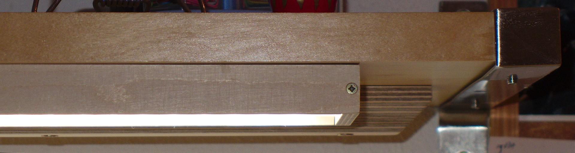 Full Size of Led Flchenlampe Aus Holz Und Plexiglas Hobby Holzwrmer Schlafzimmer Massivholz Einbaustrahler Bad Einbauleuchten Holzhäuser Garten Sofa Mit Holzfüßen Wohnzimmer Holz Led Lampe Selber Bauen