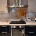 Küche Mit Eckspüle Sale Kche In Blau Seidengrau Waschbecken Wasserhahn Für Erweitern Sideboard Arbeitsplatte Selber Planen Landhaus Wandpaneel Glas Wohnzimmer Küche Mit Eckspüle
