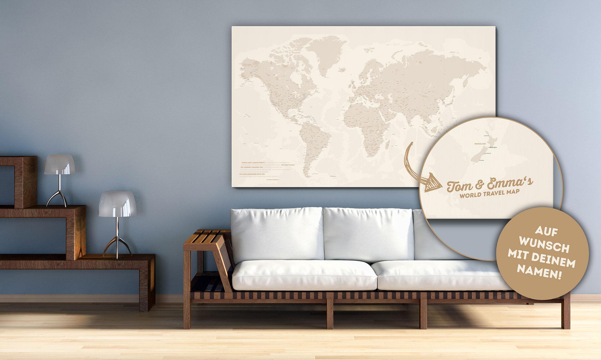 Full Size of Pinnwand Modern Küche Weltkarte Als Individuell Produziert Breuers Reiseblog Abfalleimer Moderne Landhausküche Thekentisch Ikea Kosten Billig Single Wellmann Wohnzimmer Pinnwand Modern Küche