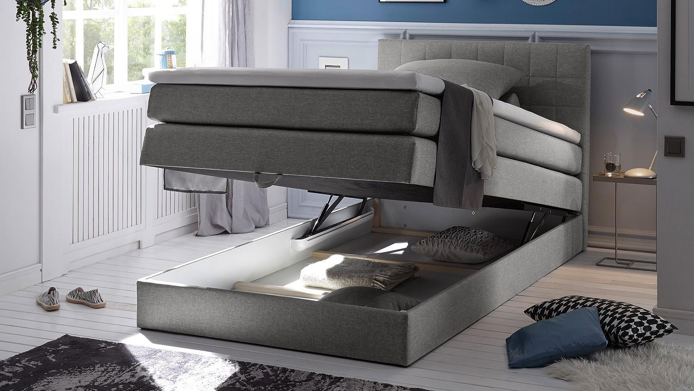 Full Size of Bett Mit Stauraum 120x200 Lifetime Weiß 140x200 Weiss Betten überlänge Massivholz Spiegelschrank Bad Beleuchtung Und Steckdose Xxl Matratze Lattenrost Wohnzimmer Bett Mit Stauraum 120x200
