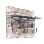 Dandibo Handtuchhaken Handtuchleiste Mit Ablage 1105 Kleine Küche L Form Tresen Bodenfliesen Nischenrückwand Bodenbelag Was Kostet Eine Gardinen Ohne Wohnzimmer Küche Handtuchhalter