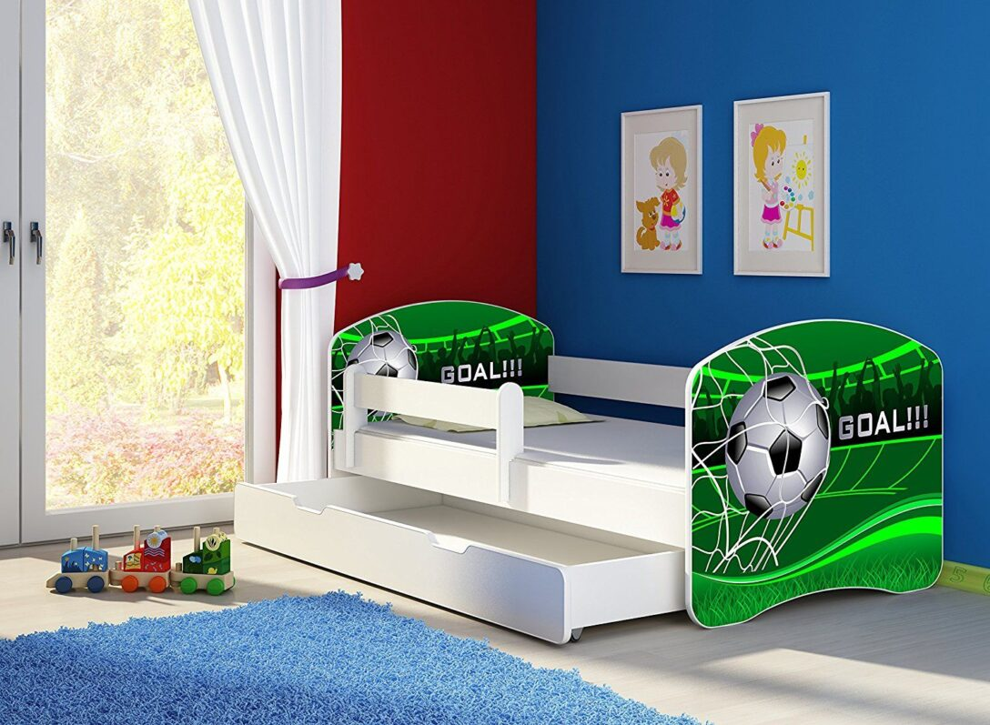 Large Size of Fussball Bett Kinderbett Komplett Set 140 70 Cm Inkl Matratze Coole Betten T Shirt Sprüche T Shirt Wohnzimmer Coole Kinderbetten