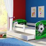 Fussball Bett Kinderbett Komplett Set 140 70 Cm Inkl Matratze Coole Betten T Shirt Sprüche T Shirt Wohnzimmer Coole Kinderbetten