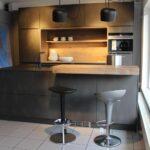 Küche Dunkel Wohnzimmer Küche Dunkel Kche Tar 53170 Uv Lack Matt Stahl Nb Neu Mbelfirst Abluftventilator Billig Kaufen Vinylboden Barhocker Polsterbank Zusammenstellen Wasserhähne