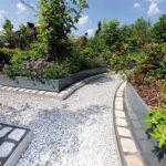 Privates Rosen Labyrinth Mit Auf Ma Gefertigten Hochbeeten Edelstahl Garten Hochbeet Outdoor Küche Edelstahlküche Gebraucht Wohnzimmer Hochbeet Edelstahl