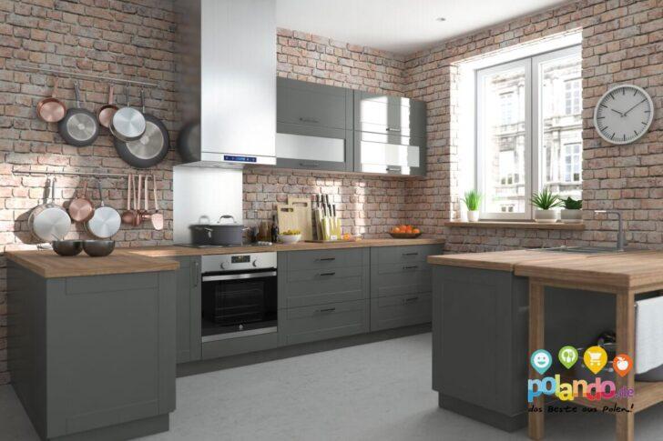 Medium Size of Polnische Modulkchen Nach Ma Kompakt Individuell Konfigurierbar Wohnzimmer Modulküchen