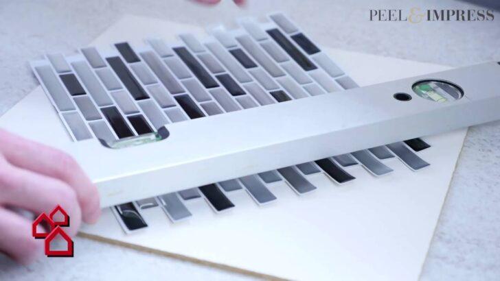 Medium Size of Selbstklebende Vinylmosaikmatte Peel Impress Fr Kchen Obi Fenster Einbauküche Immobilienmakler Baden Regale Nobilia Mobile Küche Immobilien Bad Homburg Wohnzimmer Küchenrückwand Obi