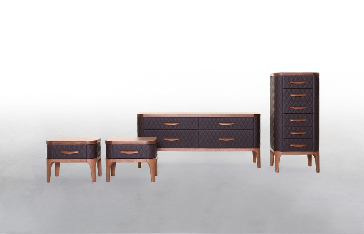 Full Size of Schlafzimmerschränke Schlafzimmerschrnke In Holz Und Leder Idfdesign Wohnzimmer Schlafzimmerschränke