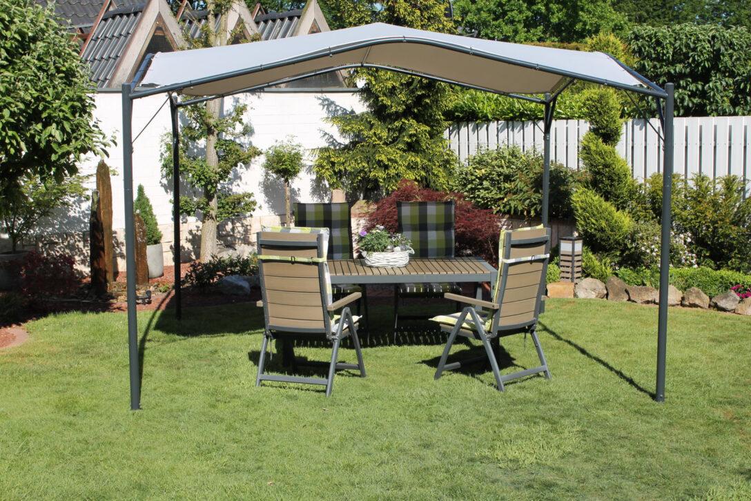 Large Size of Terrassen Pavillon Winterfest Obi Alu Aluminium Metall Leco 350x350cm Garten Berdachung Sonnenschutz Wohnzimmer Terrassen Pavillon