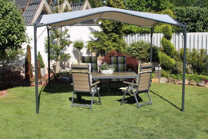 Terrassen Pavillon Winterfest Obi Alu Aluminium Metall Leco 350x350cm Garten Berdachung Sonnenschutz Wohnzimmer Terrassen Pavillon