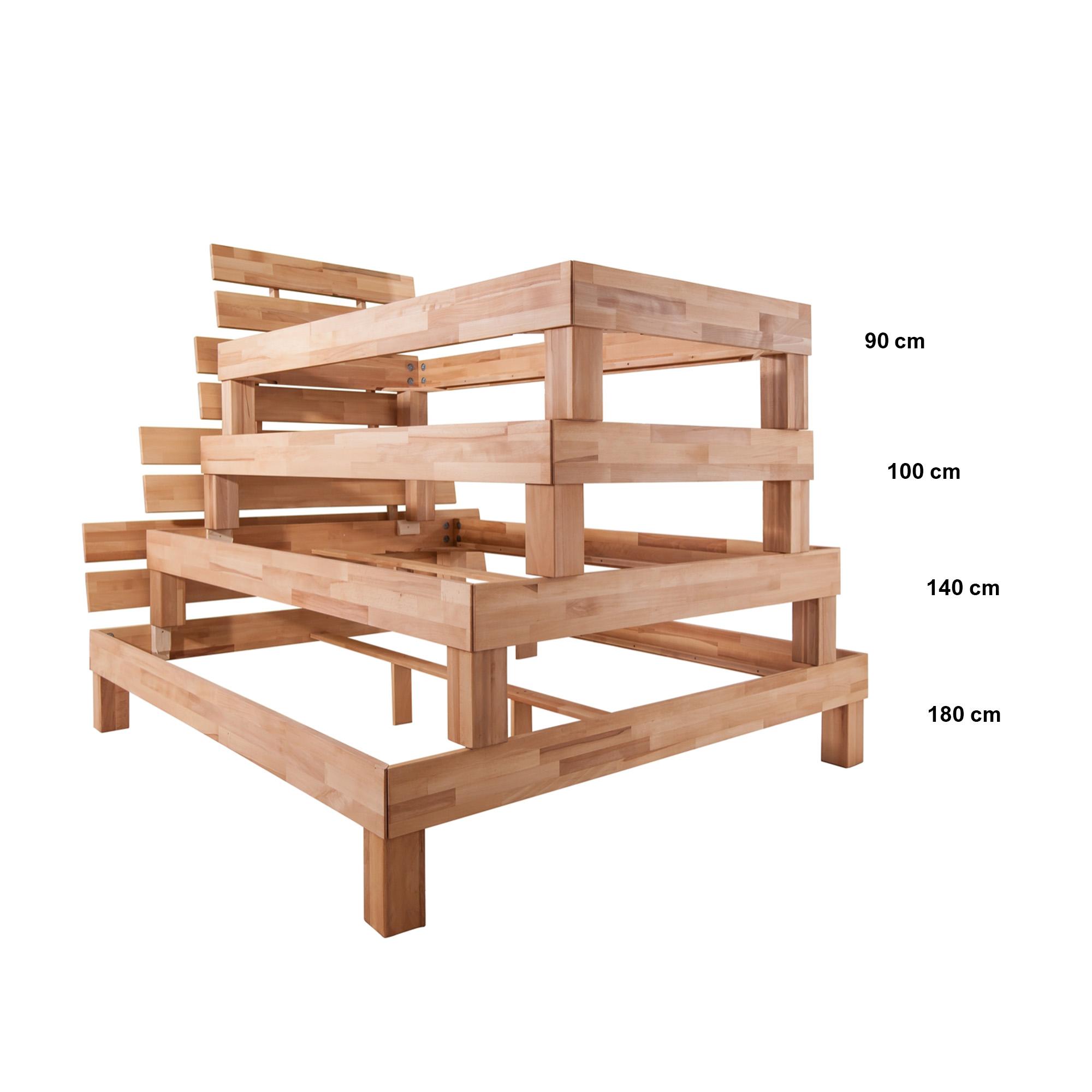 Full Size of Futonbett 100x200 Julia Liegeflche 100 200 Cm Massivholz Gelte Bett Weiß Betten Wohnzimmer Futonbett 100x200