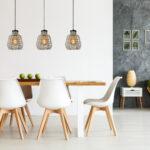 Lampe über Kochinsel Fiona Pendelleuchten E27 Grau Lampen Esstisch Küche Mit Schlafzimmer Wandlampe Bad Stehlampen Wohnzimmer Deckenlampe Sofa überzug Wohnzimmer Lampe über Kochinsel