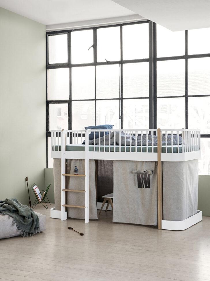 Medium Size of Halbhohes Hochbett Oliver Furniture Wood Kind Der Stadt Bett Wohnzimmer Halbhohes Hochbett