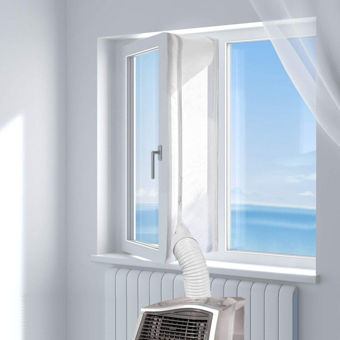 Large Size of Fenster Klimaanlage Hoomee Fensterabdichtung Fr Mobile Klimagerte Verdunkelung Sicherheitsfolie Test Sichtschutz Veka Preise Aluminium Für Einbruchschutz Wohnzimmer Fenster Klimaanlage