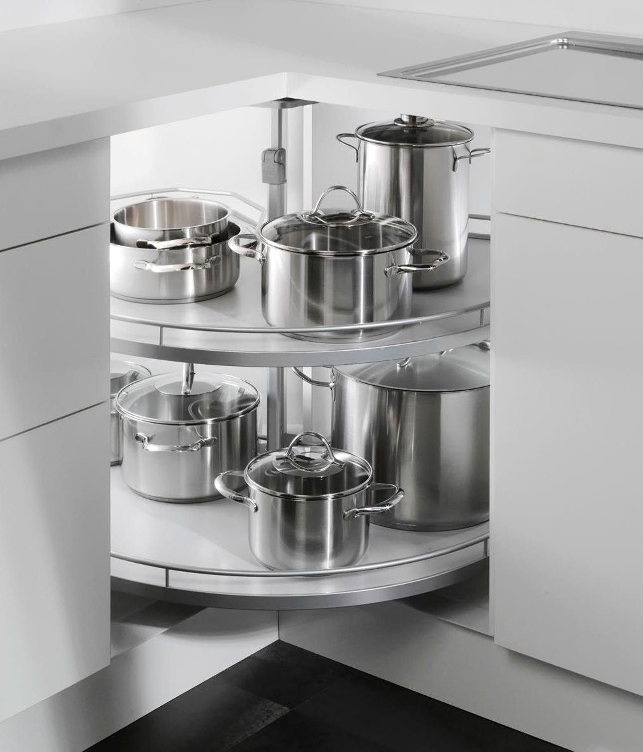 Full Size of Küchenkarussell Stauraumlsungen Zubehr Und Ausstattungsdetails Ewe Wohnzimmer Küchenkarussell