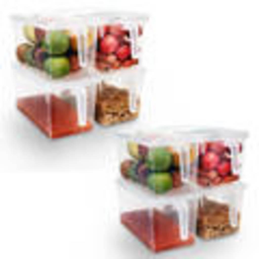 Full Size of Kurtzy Set Aus 8 Kunststoff Kchen Vorratsdosen Mit Real Aufbewahrungsbehälter Küche Küchen Regal Wohnzimmer Küchen Aufbewahrungsbehälter