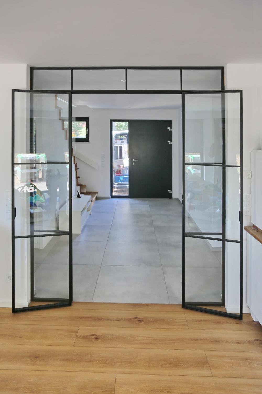 Full Size of Paravent Bauhaus Doppeltr Im Bauhausstil Garten Fenster Wohnzimmer Paravent Bauhaus