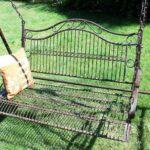 Gartenschaukel Metall Hollywoodschaukel Antik 2 Sitzer 082505 Regal Weiß Bett Regale Wohnzimmer Gartenschaukel Metall