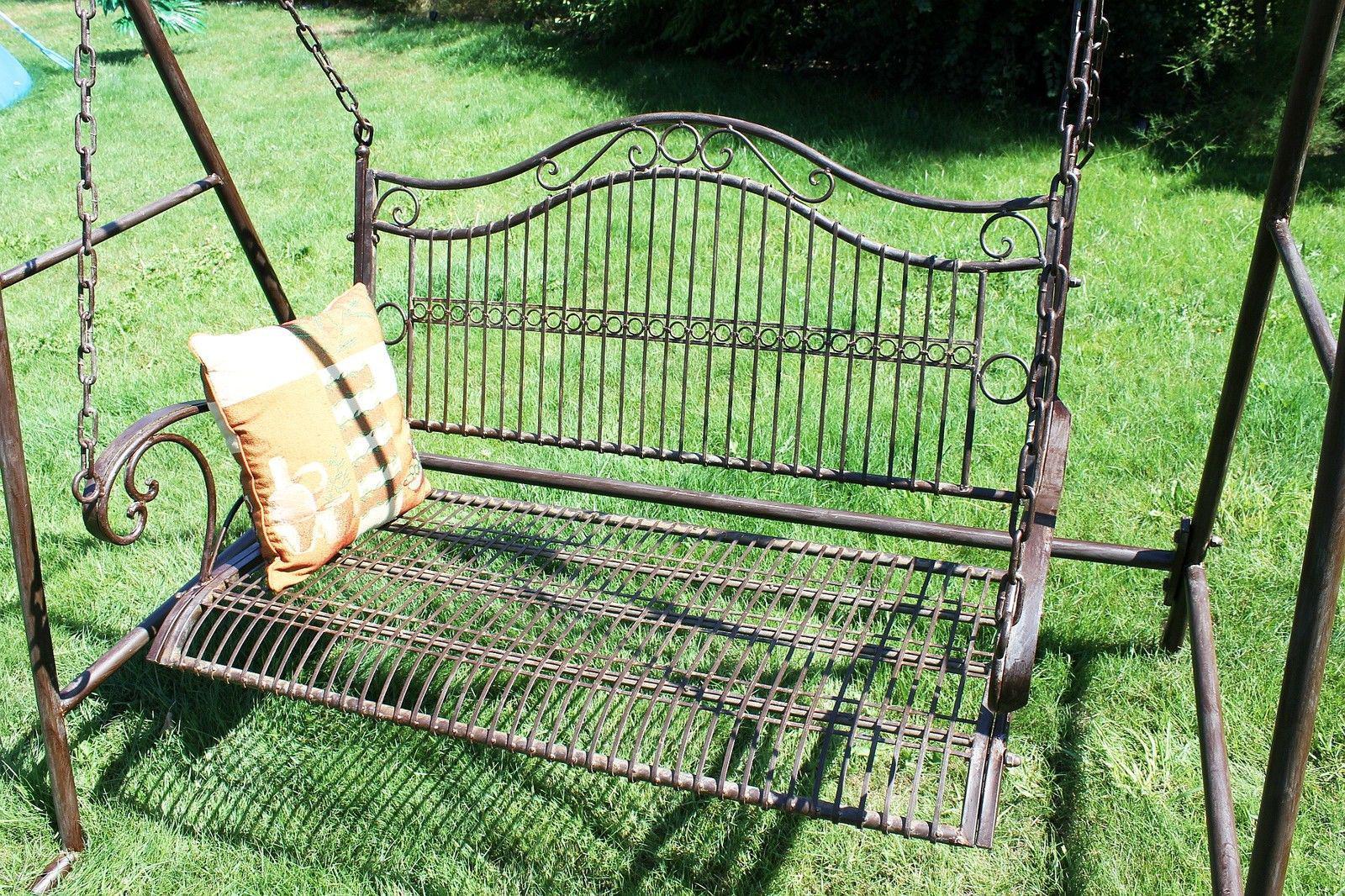 Full Size of Gartenschaukel Metall Hollywoodschaukel Antik 2 Sitzer 082505 Regal Weiß Bett Regale Wohnzimmer Gartenschaukel Metall
