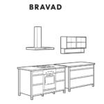 Ikea Modulküche Bravad Wohnzimmer Ikea Bravad Arbeitsplatte Edelstahl Neu Küche Kaufen Kosten Betten Bei 160x200 Holz Sofa Schlaffunktion