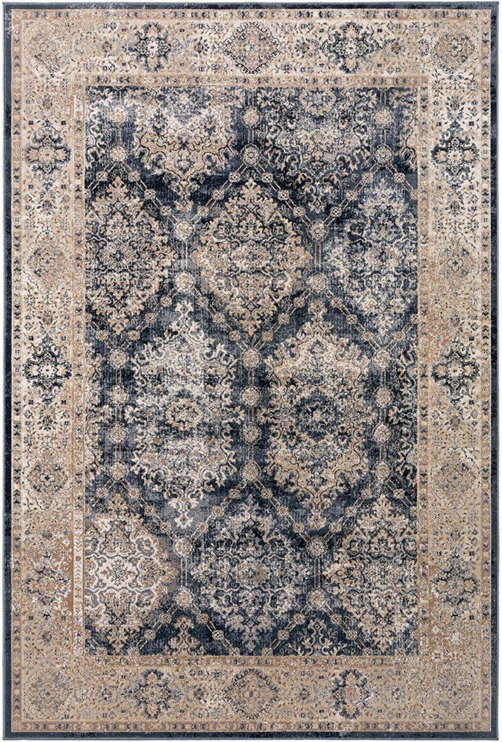 Medium Size of Amazonde Benuta Teppich Yara Beige Blau 300x400 Cm Vintage Küche Wohnzimmer Teppiche Schlafzimmer Bad Für Badezimmer Esstisch Steinteppich Wohnzimmer Teppich 300x400