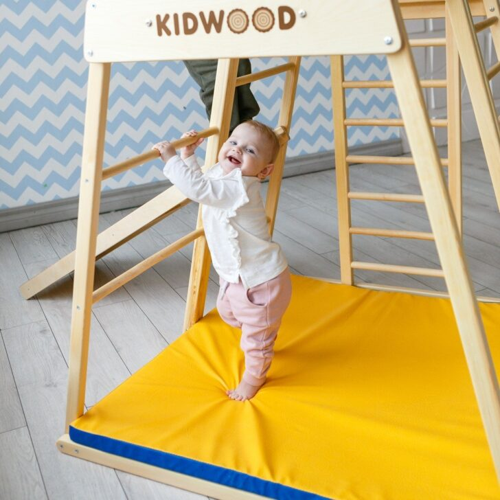 Medium Size of Kidwood Klettergerüst 1 Klettergerst Rakete Sport Set Aus Holz Fr Indoor Garten Wohnzimmer Kidwood Klettergerüst
