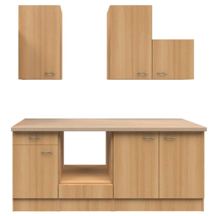 Medium Size of Roller Miniküche Kchenblock Nano Buche 210 Cm Online Bei Kaufen Mit Kühlschrank Ikea Stengel Regale Wohnzimmer Roller Miniküche