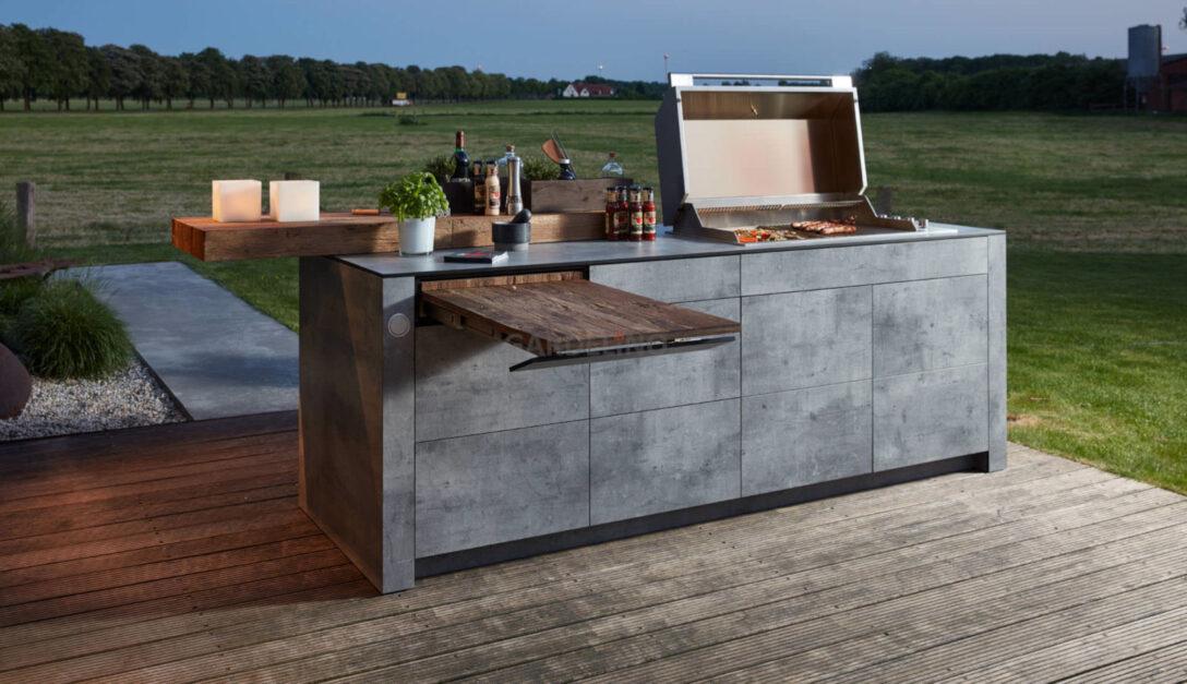 Large Size of Mobile Outdoorküche Outdoor Kche Kaufen Fr Garten Und Terrasse Küche Wohnzimmer Mobile Outdoorküche