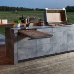Mobile Outdoorküche Outdoor Kche Kaufen Fr Garten Und Terrasse Küche Wohnzimmer Mobile Outdoorküche