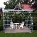 Pavillon Eisen Wohnzimmer Rosenpavillons Aus Schmiedeeisen Verzinkt Pavillon Garten