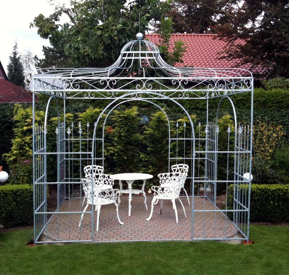 Full Size of Rosenpavillons Aus Schmiedeeisen Verzinkt Pavillon Garten Wohnzimmer Pavillon Eisen