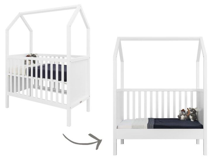 Medium Size of Bopita Babybett My First House Wei Bett Wohnzimmer Bopita Bettschublade