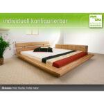 Futonbett 100x200 Wohnzimmer Futonbett 100x200 Okinawa Massivholzbetten Werksverkauf Bett Weiß Betten