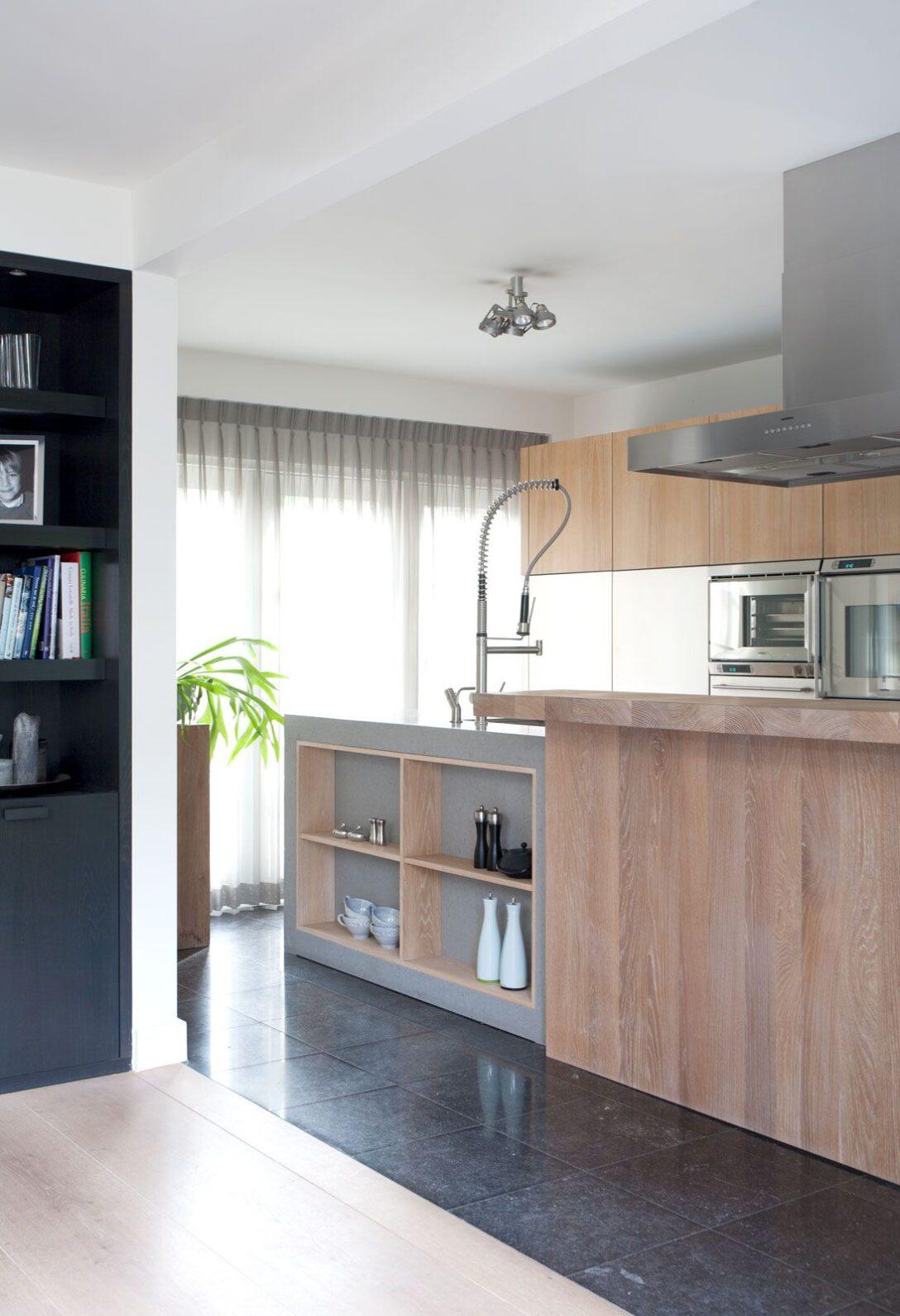 Large Size of Cocoon Modulküche Modern Wooden Kitchen In Dutch Villa Salle Manger Cuisine Ikea Holz Wohnzimmer Cocoon Modulküche