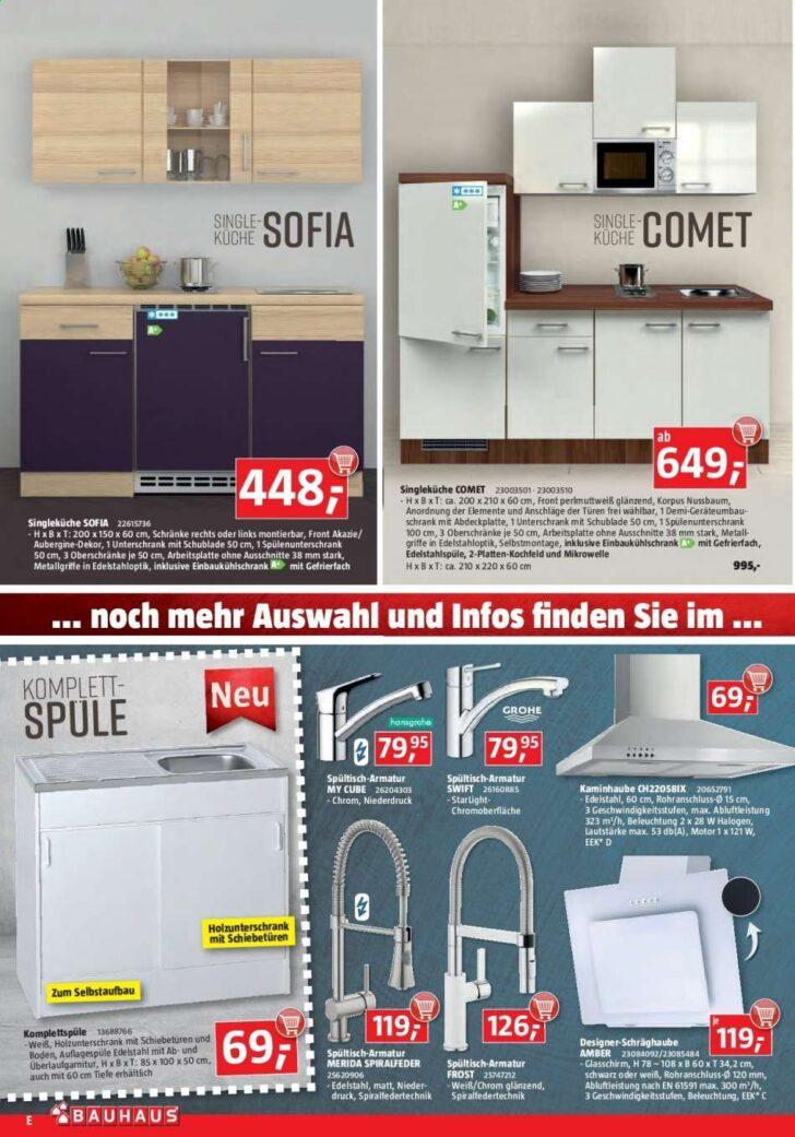 Medium Size of Singleküche Bauhaus Angebote 1692019 2892019 Rabatt Kompass Fenster Mit Kühlschrank E Geräten Wohnzimmer Singleküche Bauhaus